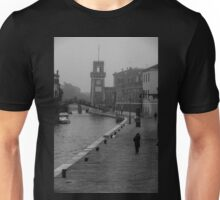 Walking by the canal Unisex T-Shirt