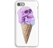 skull icecream iPhone Case/Skin