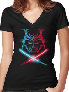 SITH & KATANAS Women's Fitted V-Neck T-Shirt