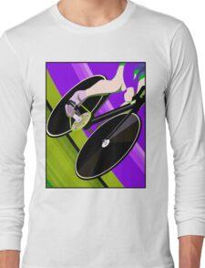 BICYCLE ABSTRACT; Modern Art Print Long Sleeve T-Shirt