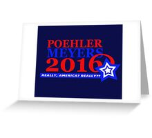 Poehler/Meyers 2016 Greeting Card