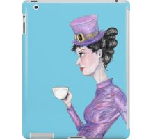 Tea at 20 paces iPad Case/Skin