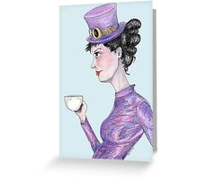 Tea at 20 paces Greeting Card