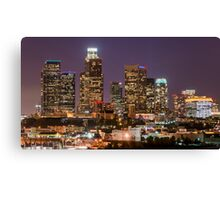 LA Skyline Canvas Print