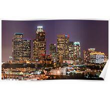 LA Skyline Poster