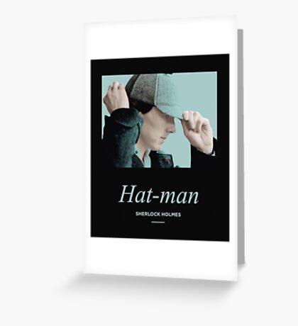 Hat-man, Sherlock Holmes Greeting Card