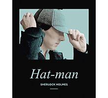 Hat-man, Sherlock Holmes Photographic Print