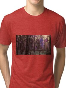 Lost In The Witch's Forest, Dusk Tri-blend T-Shirt