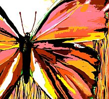 A Butterfly So Pink by Saundra Myles