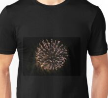 Fireworks Party - Color Background - Explosion of Beauty and Party Unisex T-Shirt