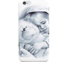 Elizabeth portrait realism teddy baby toy iPhone Case/Skin