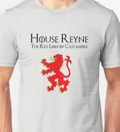 House Reyne of Castamere Emblem Unisex T-Shirt