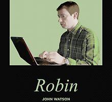 Robin, John Watson  by eely