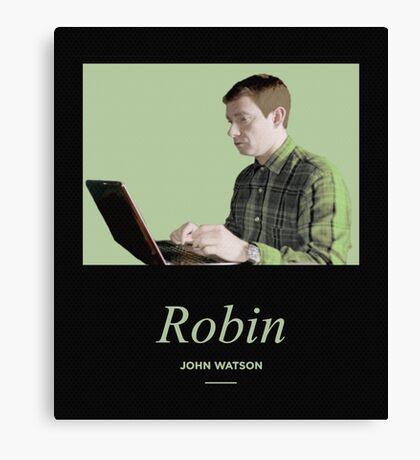 Robin, John Watson  Canvas Print