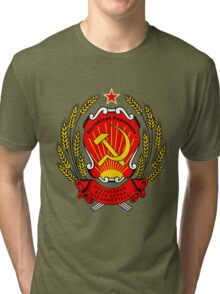 CCCP coat of arms Tri-blend T-Shirt