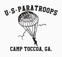 Camp Toccoa PT Shirt Kids Clothes