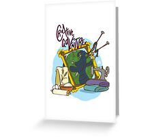 Creative Adventurer Greeting Card