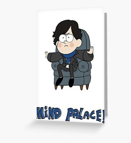 Sherlock Gravity Falls Greeting Card