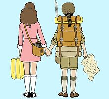 Moonrise Kingdom - Suzy & Sam by Mafghan