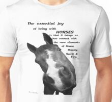 Many Sides of the Equine Unisex T-Shirt
