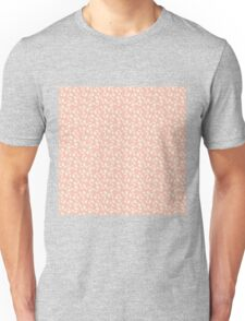 Pink and Cream Blossoms - Calico Flowers Unisex T-Shirt
