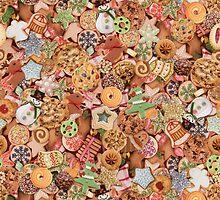 Christmas Cookie Exchange Display by jaymelafleur