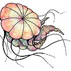 Rainbow Jellyfish by SixofOne
