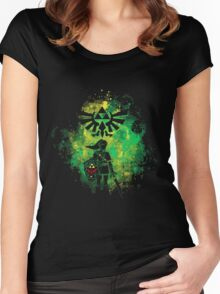 Legend of Zelda - Hyrule Warrior Women's Fitted Scoop T-Shirt