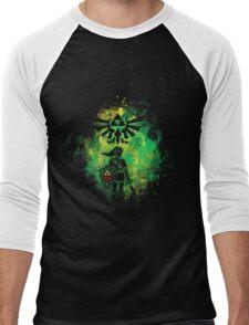 Legend of Zelda - Hyrule Warrior Men's Baseball ¾ T-Shirt