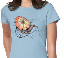 Rainbow Jellyfish Womens Fitted T-Shirt