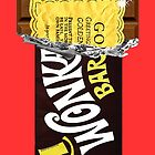 Wonka Bar Golden Ticket iPhone Case and Samsung Case by Jason Subroto