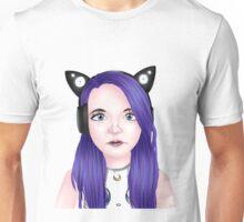 Semi-Realistic Lizzie aka LDShadowLady Unisex T-Shirt