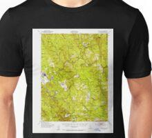 USGS TOPO Map California CA Blue Lake 296846 1951 62500 geo Unisex T-Shirt