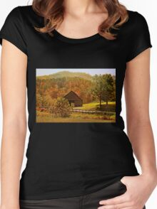 Rural Appalachia  Women's Fitted Scoop T-Shirt