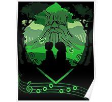 Legend of Zelda - Saria's Song Poster