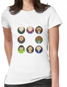 Rent Busts Womens Fitted T-Shirt
