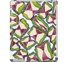 abstract hourglass on stage iPad Case/Skin