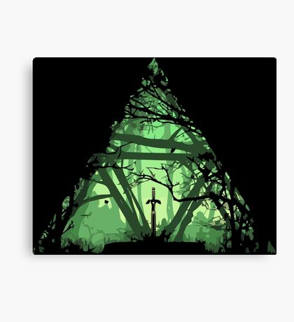 Legend of Zelda - Triforce Canvas Print