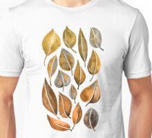 Rusty Leaves Unisex T-Shirt