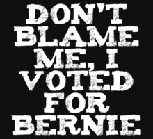 Voted For Bernie by thepixelgarden