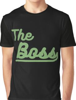 """the boss """"design couple"""" Graphic T-Shirt"""