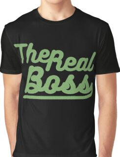 """the real boss """" Design couple"""" Graphic T-Shirt"""