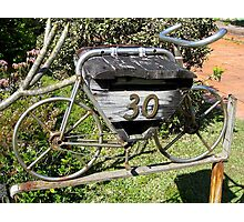 Old Stagecoach Box Photographic Print