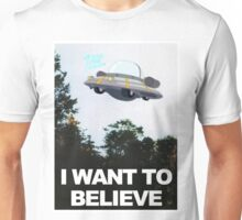 I WANT TO BELIEVE - Rick and Morty Ship Unisex T-Shirt