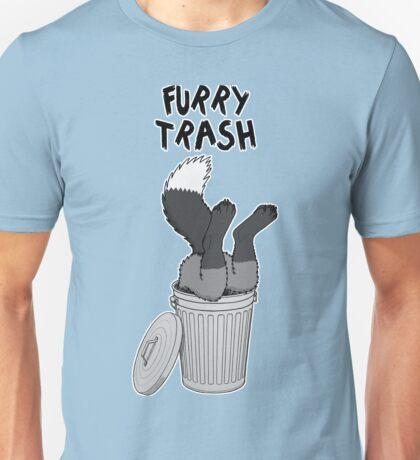 Furry Trash - Silver Fox Unisex T-Shirt