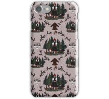 Black Forest Pattern iPhone Case/Skin