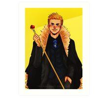 Starfleet's Golden Boy Art Print