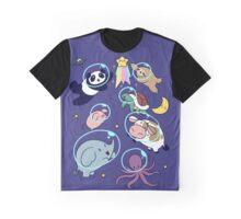 Space Animals! Graphic T-Shirt