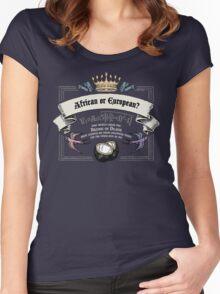Unladen Swallow Women's Fitted Scoop T-Shirt