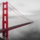 Misty Bridge by Radek Hofman